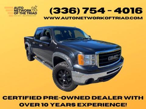 2010 GMC Sierra 1500 for sale at Auto Network of the Triad in Walkertown NC