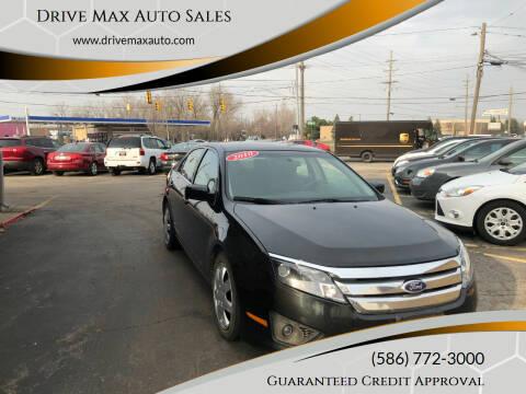 2010 Ford Fusion for sale at Drive Max Auto Sales in Warren MI