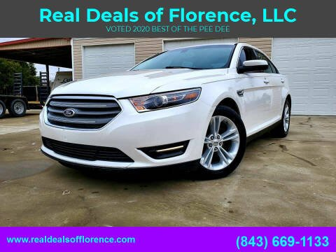 2015 Ford Taurus for sale at Real Deals of Florence, LLC in Effingham SC