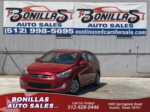 2017 Hyundai Accent for sale at Bonillas Auto Sales in Austin TX