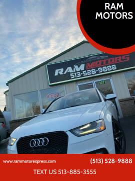 2013 Audi A4 for sale at RAM MOTORS in Cincinnati OH