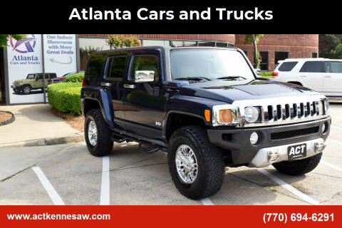2008 HUMMER H3 for sale at Atlanta Cars and Trucks in Kennesaw GA