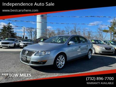 2006 Volkswagen Passat for sale at Independence Auto Sale in Bordentown NJ