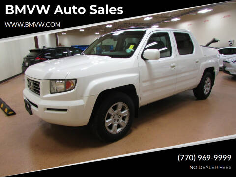 2006 Honda Ridgeline for sale at BMVW Auto Sales in Union City GA