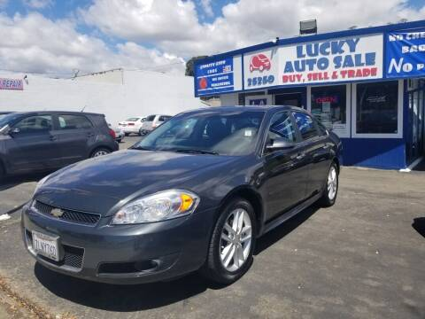 2015 Chevrolet Impala Limited for sale at Lucky Auto Sale in Hayward CA