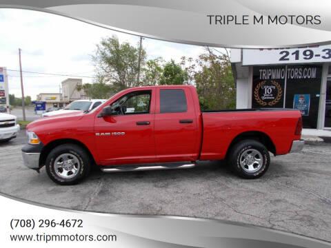 2012 RAM Ram Pickup 1500 for sale at Triple M Motors in Saint John IN