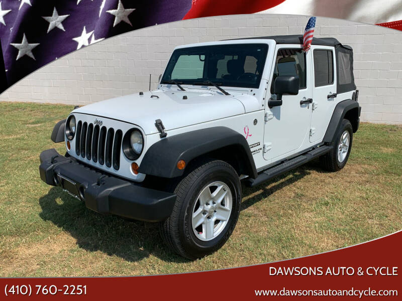 2011 Jeep Wrangler Unlimited for sale at Dawsons Auto & Cycle in Glen Burnie MD