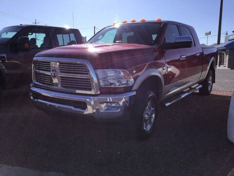 2010 Dodge Ram Pickup 3500 for sale at SPEND-LESS AUTO in Kingman AZ