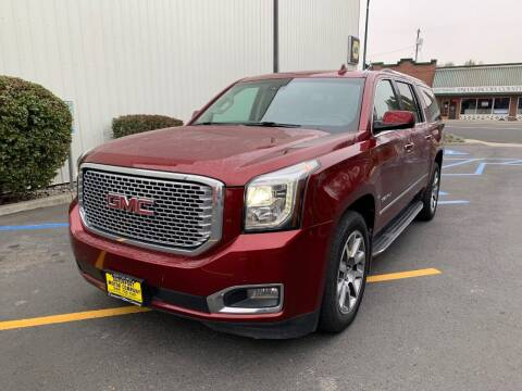 2017 GMC Yukon XL for sale at DAVENPORT MOTOR COMPANY in Davenport WA