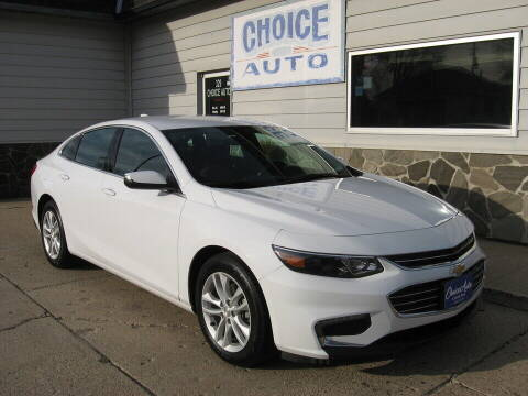 2018 Chevrolet Malibu for sale at Choice Auto in Carroll IA