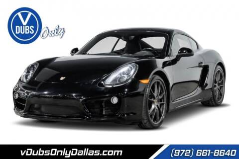 2014 Porsche Cayman for sale at VDUBS ONLY in Dallas TX