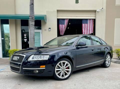 2009 Audi A6 for sale at AUTOSPORT MOTORS in Lake Park FL