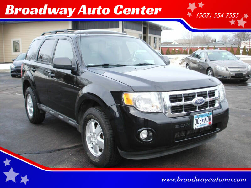 2010 Ford Escape for sale at Broadway Auto Center in New Ulm MN