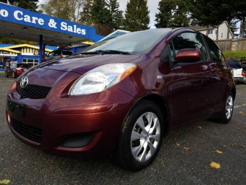 2009 Toyota Yaris for sale at Shoreline Family Auto Care And Sales in Shoreline WA
