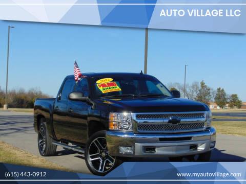 2012 Chevrolet Silverado 1500 for sale at AUTO VILLAGE LLC in Lebanon TN