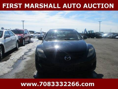2010 Mazda MAZDA6 for sale at First Marshall Auto Auction in Harvey IL