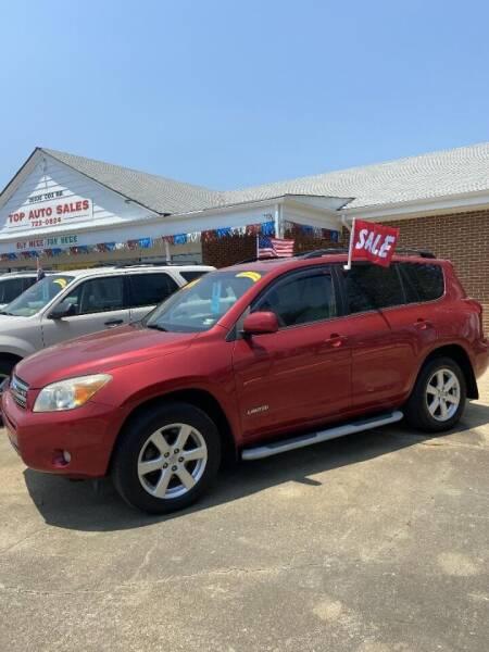 2008 Toyota RAV4 for sale at Top Auto Sales in Petersburg VA