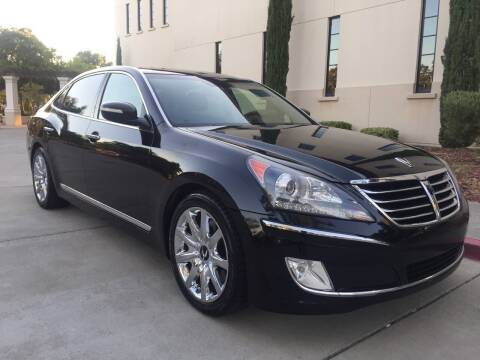 2011 Hyundai Equus for sale at Auto King in Roseville CA