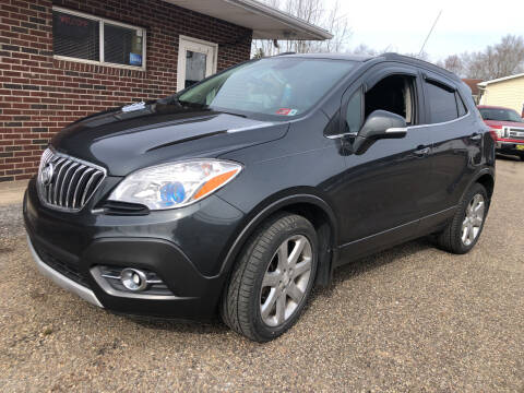 2016 Buick Encore for sale at MYERS PRE OWNED AUTOS & POWERSPORTS in Paden City WV