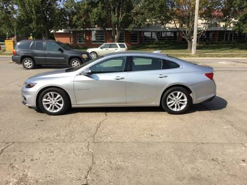 2016 Chevrolet Malibu for sale at Mulder Auto Tire and Lube in Orange City IA