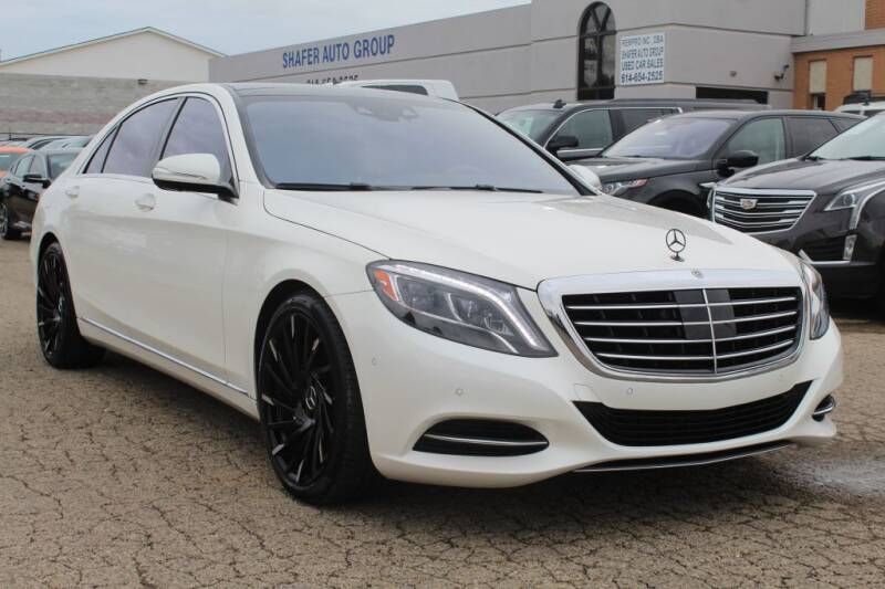 2017 Mercedes-Benz S-Class for sale at SHAFER AUTO GROUP in Columbus OH