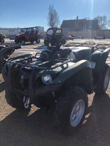 2013 Yamaha 550 GRIZZLEY EPS for sale at Honda West in Dickinson ND