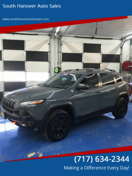 2014 Jeep Cherokee for sale at South Hanover Auto Sales in Hanover PA