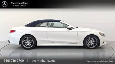 2017 Mercedes-Benz S-Class for sale at Mercedes-Benz of North Olmsted in North Olmsted OH