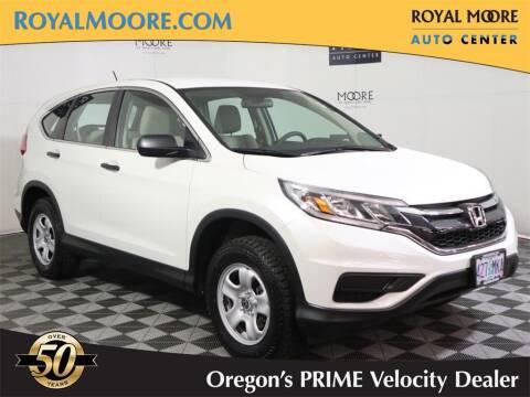 2015 Honda CR-V for sale at Royal Moore Custom Finance in Hillsboro OR