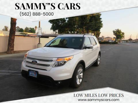 """2015 Ford Explorer for sale at SAMMY""""S CARS in Bellflower CA"""