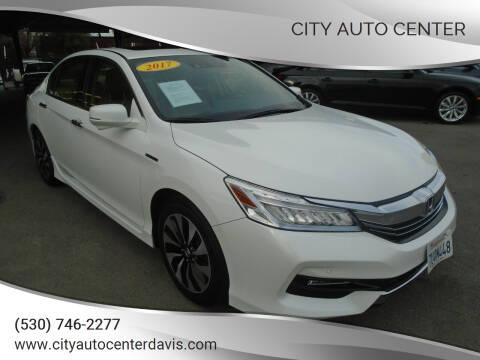 2017 Honda Accord Hybrid for sale at City Auto Center in Davis CA