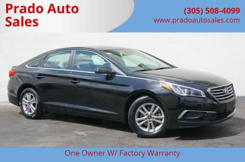 2017 Hyundai Sonata for sale at Prado Auto Sales in Miami FL