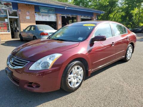 2012 Nissan Altima for sale at CENTRAL AUTO GROUP in Raritan NJ