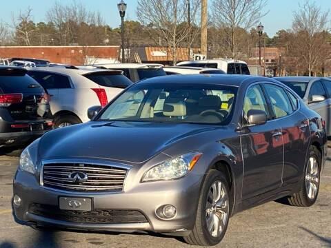 2013 Infiniti M37 for sale at Atlanta's Best Auto Brokers in Marietta GA