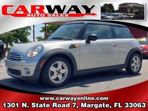 2007 MINI Cooper for sale at CARWAY Auto Sales in Margate FL