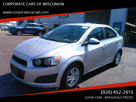 2013 Chevrolet Sonic for sale at CORPORATE CARS OF WISCONSIN - DAVES AUTO SALES OF SHEBOYGAN in Sheboygan WI