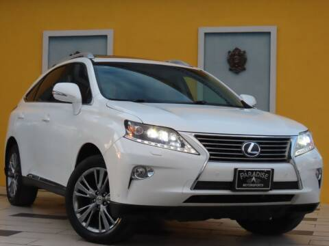 2013 Lexus RX 450h for sale at Paradise Motor Sports LLC in Lexington KY