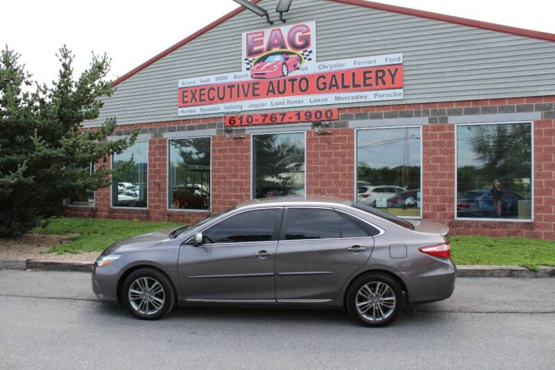 2017 Toyota Camry for sale at EXECUTIVE AUTO GALLERY INC in Walnutport PA