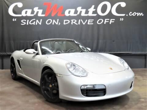 2006 Porsche Boxster for sale at CarMart OC in Costa Mesa CA