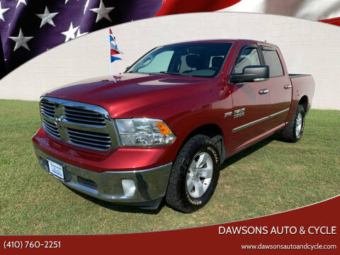 2014 RAM Ram Pickup 1500 for sale at Dawsons Auto & Cycle in Glen Burnie MD