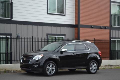 2011 Chevrolet Equinox for sale at Skyline Motors Auto Sales in Tacoma WA