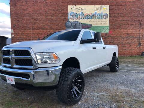 2017 RAM Ram Pickup 2500 for sale at Priority One Auto Sales in Stokesdale NC
