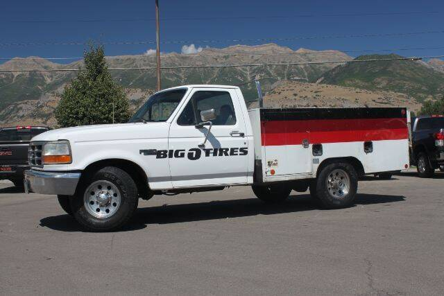 1997 Ford F-350 for sale at REVOLUTIONARY AUTO in Lindon UT