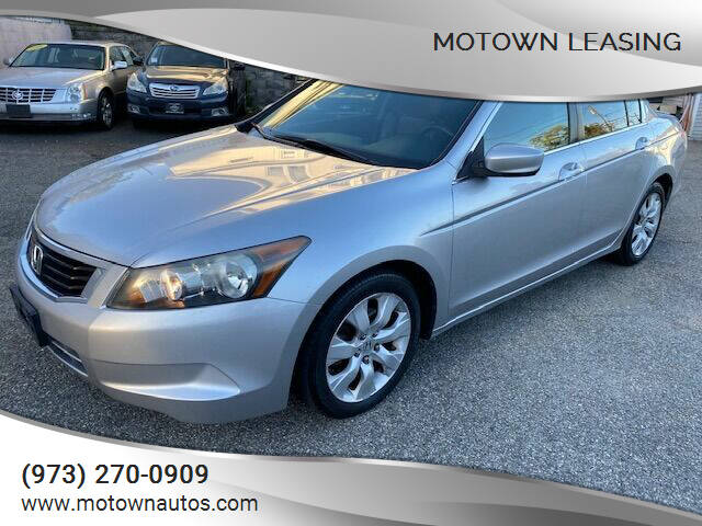 2008 Honda Accord for sale at Motown Leasing in Morristown NJ