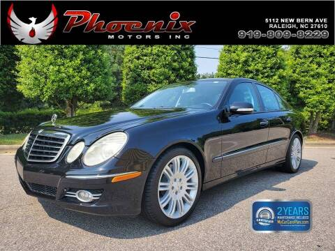 2007 Mercedes-Benz E-Class for sale at Phoenix Motors Inc in Raleigh NC