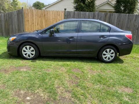 2013 Subaru Impreza for sale at ALL Motor Cars LTD in Tillson NY