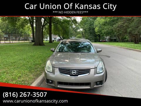 2007 Nissan Maxima for sale at Car Union Of Kansas City in Kansas City MO