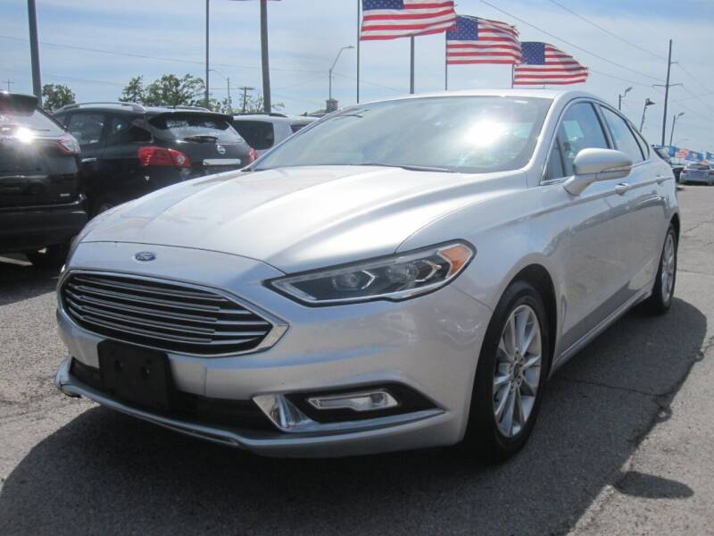 2017 Ford Fusion for sale at T & D Motor Company in Bethany OK