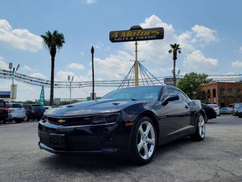 2015 Chevrolet Camaro for sale at A MOTORS SALES AND FINANCE in San Antonio TX