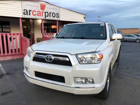 2010 Toyota 4Runner for sale at Arkansas Car Pros in Cabot AR